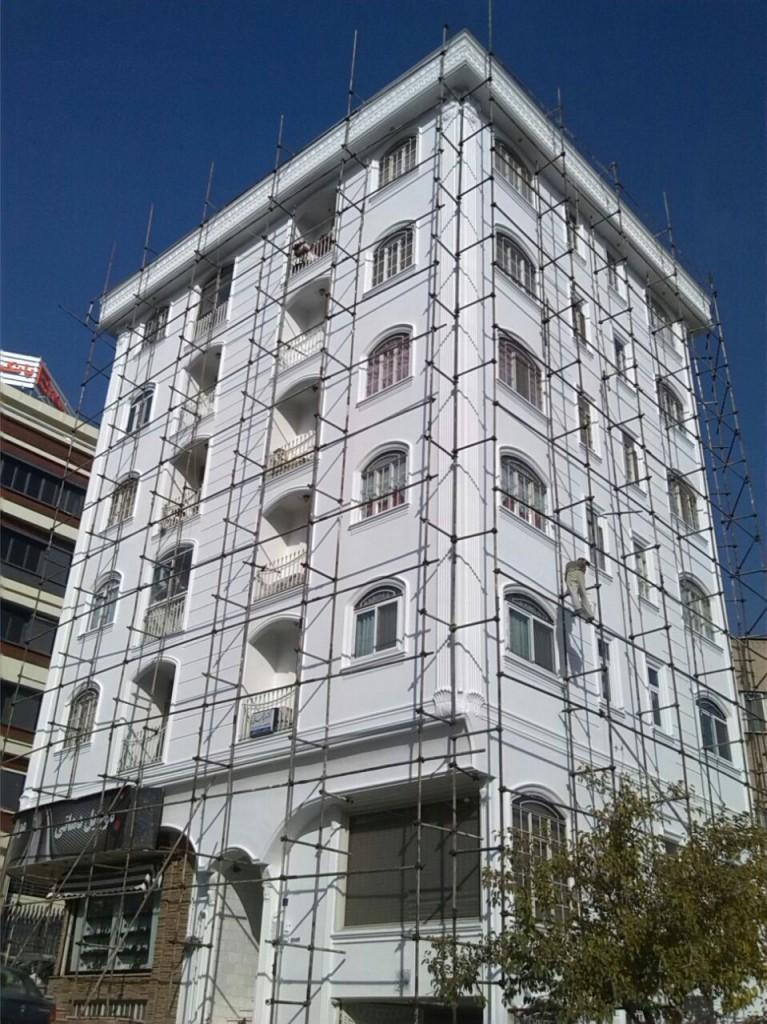 نقاشي نماي ساختمان