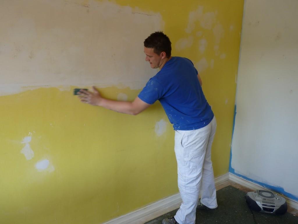 علت ترک نقاشی ساختمان